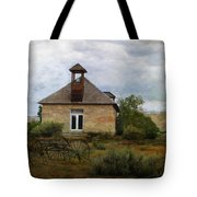 The Old Shell Schoolhouse Tote Bag