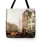 The Old Smithfield Market Tote Bag by Thomas Sidney Cooper