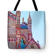 The Old South Church Boston Tote Bag