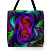 The Old Stuffed Chair - Fractal Tote Bag