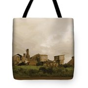 The Old Sugar Mill At Koloa Tote Bag