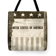 The Old Tag Bw Tote Bag by Martin Bergsma