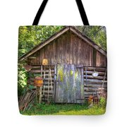 The Old Tool Shed II Tote Bag by Lanita Williams