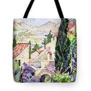 The Old Town Vaison Tote Bag