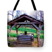 The Old Water Well Tote Bag