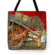 The Old Wheelbarrow Tote Bag
