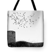 The Old Windmill  Tote Bag