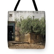 The Old Women And The Goats Tote Bag