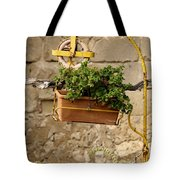 The Old Yellow Well Tote Bag