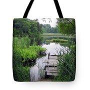 The Ole Fishing Hole Tote Bag