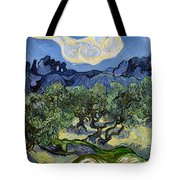 The Olive Tree Tote Bag