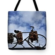 The Onion Bicycle Tote Bag
