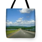 The Open Highway Tote Bag