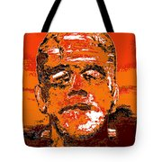 The Orange Monster Tote Bag