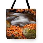 The Orange Stream Tote Bag