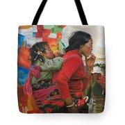 The Orange Tote Bag