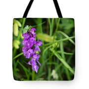 The Orchid And The Grasshopper  Tote Bag