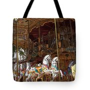 The Original French Carousel Tote Bag