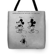 The Original Mickey Mouse Patent Design Tote Bag