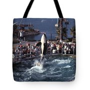 The Original Shamu Orca Sea World San Diego 1967 Tote Bag