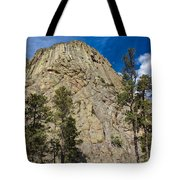 The Other Side Of Devils Tower Tote Bag