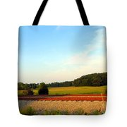 The Other Side Of The Tracks Tote Bag