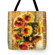 The Other Sunflowers Tote Bag