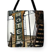 The Otis Hotel Tote Bag