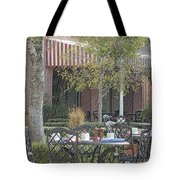 The Outdoor Cafe Tote Bag