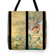 The Outskirts Of Kyoto Throughout The Season Tote Bag