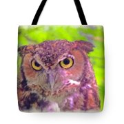 The Owl... Tote Bag