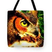 The Owl's Eye Tote Bag