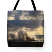 The Pacific Calms Down Tote Bag