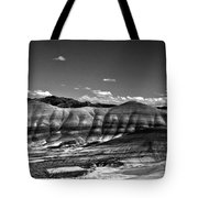 The Painted Hills Bw Tote Bag