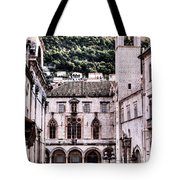 The Palace And The Tower Tote Bag