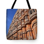 The Palace Of The Winds In Jaipur Tote Bag