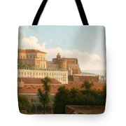 The Palazzo Reale And The Harbor. Naples Tote Bag
