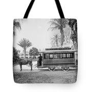 The Palm Beach Trolley Tote Bag