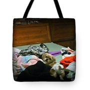 The Pampered Pup Tote Bag