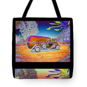 The Panel - Collage Tote Bag