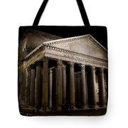 The Pantheon At Night Tote Bag