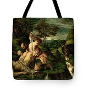 The Parable Of The Good Samaritan Tote Bag