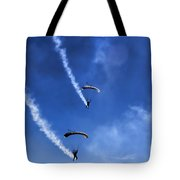 The Parachutists V5 Tote Bag
