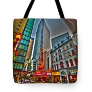 The Paramount Center And Opera House In Boston Tote Bag