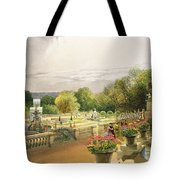 The Parterre Harewood House Near Leeds Tote Bag