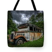 The Party Bus Tote Bag