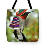 The Partying Hummer Tote Bag