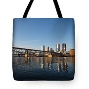 The Pass Tote Bag by Jimmy Taaffe