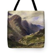 The Pass Of Glencoe, 1852 Tote Bag by William Bennett