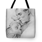 Passion Of The Kiss Tote Bag